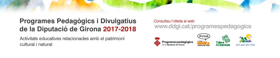 Programes pedagògics 2018