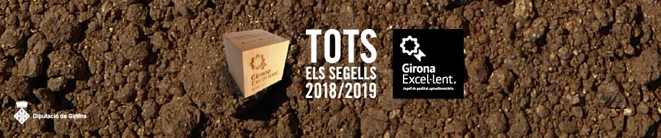 Girona Excel·lent - Tots els segells